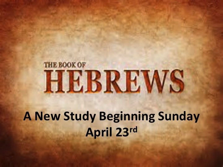 A Sudy In Hebrews